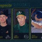 2001 Topps Chrome #299 Everett/Ortiz/Ginter