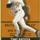 2002 Fleer Authentix #15 Tony Batista