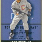 2002 Fleer Authentix #91 Jose Cruz Jr.