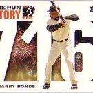 2005 Topps Barry Bonds Home Run History #716 Barry Bonds HR716