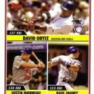 2006 Topps Update #204 David Ortiz / Justin Morneau / Raul Ibanez LL - Red Sox / Twins / Mariners (A