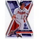 2008 Upper Deck X Die Cut #8 Mark Teixeira