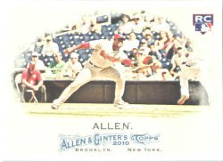 2010 Topps Allen and Ginter #140 Brandon Allen (RC) - Arizona Dimondbacks (RC - Rookie Card)(Basebal