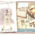 2010 Topps Allen and Ginter This Day in History #TDH12 Andre Ethier - Los Angeles Dodgers (Baseball
