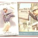 2010 Topps Allen and Ginter This Day in History #TDH44 B.J. Upton - Tampa Bay Rays (Baseball Cards)