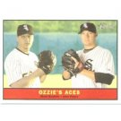 2010 Topps Heritage Baseball Card # 337 Jake Peavy / Mark Buehrle