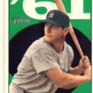 2010 Topps Heritage Mantle Chase 61 #MM6 Mickey Mantle