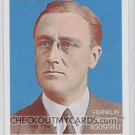 2009 Topps National Chicle Era Icons #EI7 Franklin D. Roosevelt
