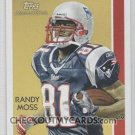 2009 Topps National Chicle Stars of the Gridiron #SG6 Randy Moss