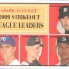 2010 Topps Heritage #50 Justin Verlander/Zack Greinke/Jon Lester/Felix Hernandez