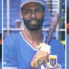 1988 Donruss 255 Willie Wilson