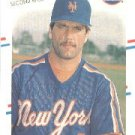 1988 Fleer 128 Wally Backman