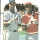 1988 Fleer 637 Darryl Strawberry/Eric Davis