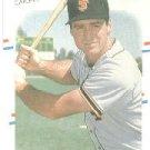 1988 Fleer 91 Bob Melvin