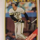 1988 Topps #221 Rafael Belliard ( Baseball Cards )
