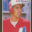 1989 Donruss #342 Tom Foley - Montreal Expos (Baseball Cards)