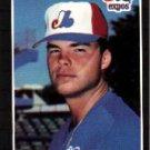 1989 Donruss #392 John Dopson - Montreal Expos (Baseball Cards)