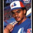 1989 Donruss #570 Johnny Paredes DP - Montreal Expos (Baseball Cards)