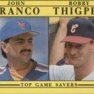 1991 Fleer #712 Top Game Savers