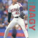 1992 Fleer 118 Charles Nagy UER/(Throws right, but/card says