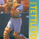 1992 Fleer 147 Mickey Tettleton