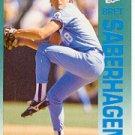 1992 Fleer 167 Bret Saberhagen