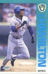 1992 Fleer 177 Darryl Hamilton