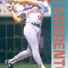 1992 Fleer 218 Paul Sorrento