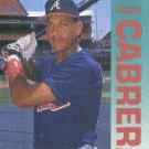 1992 Fleer 355 Francisco Cabrera
