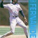1992 Fleer 604 Tony Fernandez