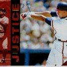 1994 Select #236 David Justice ( Baseball Cards )