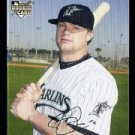 2007 Topps Update #191 Brett Carroll RC - Florida Marlins (RC - Rookie Card)(Baseball Cards)