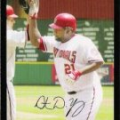 2007 Topps Update #95 Dmitri Young - Washington Nationals (Baseball Cards)