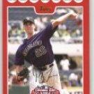 2008 Topps Opening Day 162 Jeff Francis