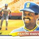 1988 Topps Big 64 Alvin Davis