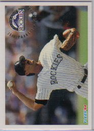 1994 Fleer #449 Jeff Parrett