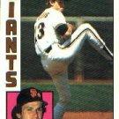 1984 Topps #343 Mark Davis