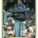 1982 Fleer 143 Moose Haas