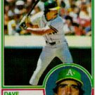 1983 Topps #47 Dave McKay