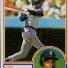 1983 Topps #509 Lou Whitaker