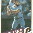 1985 Topps #611 Ozzie Virgil