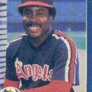 1986 Fleer #164 Donnie Moore