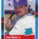 1988 Donruss 36 Joey Meyer RR