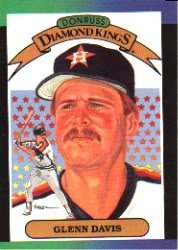 1989 Donruss 25 Glenn Davis DK