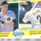 1989 Fleer 642 Brad Pounders RC/Jerald Clark RC