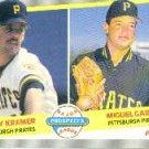 1989 Fleer 647 Randy Kramer and/Miguel Garcia