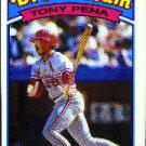 1989 K-Mart 30 Tony Pena