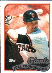 1989 Topps 304 Joel Youngblood