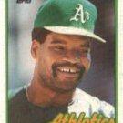 1989 Topps 527 Dave Henderson
