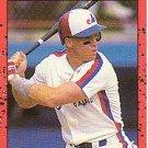 1990 Donruss 366 Rex Hudler
